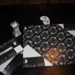 Parures de Bureau Black & White